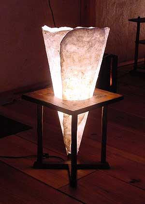 床置きランプ1