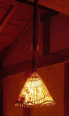 ペンダント型のランプ1