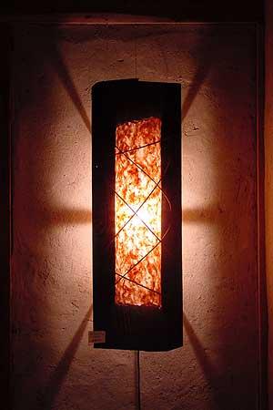 壁掛けランプ1