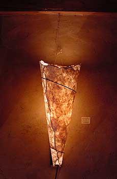壁掛けランプ