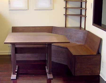 コーナーベンチ&ダイニングテーブルセット
