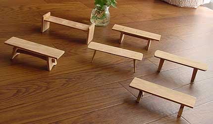 ベンチの模型1